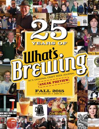 What's Brewing Fall 2015