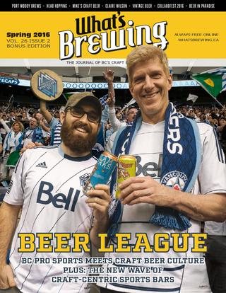 What's Brewing Spring 2016 Bonus Edition