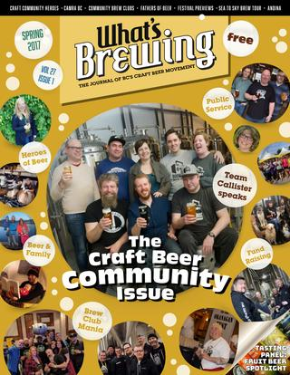 What's Brewing Spring 2017