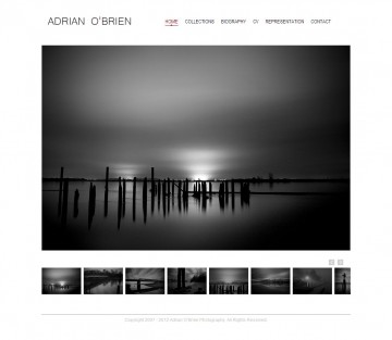 Adrian O'Brien Home Page